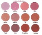 blush-on - a palatte of blush-on colors