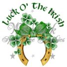 Luck Of The Irish - Luck Of The Irish, St Patricks Day horseshoe