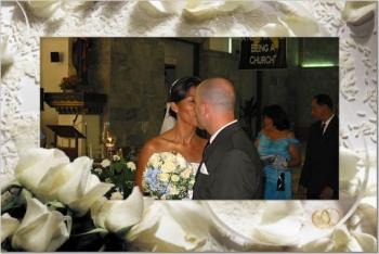 the kiss - just edited picture of my wedding