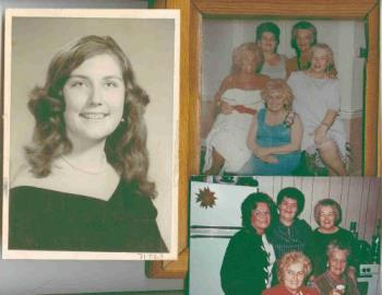 Me, my mother and her sisters - women
