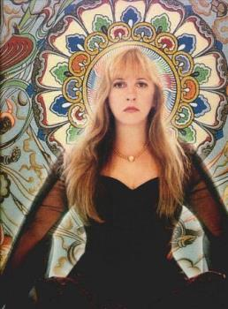 Stevie Nicks - She is truly beautiful. This photo makes her look like an angel.