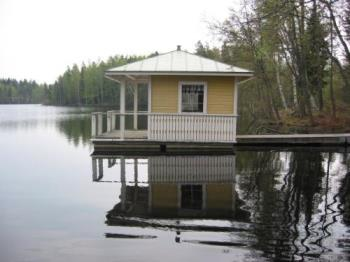 A lake house at Finland - A lake house at Finland.I wish be mine!!