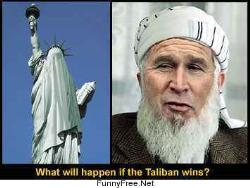 funny picture - taliban wins