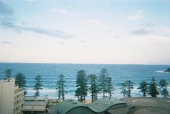 sydney - Photo taken in Manly beach in Sydney from an apartment.
