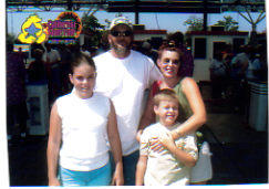 Family - A family outing in the summer. To the state fair.