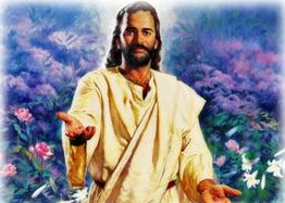 Portrait of Jesus Christ - As painted by an artist. This does not mean that it's the real face of Jesus.