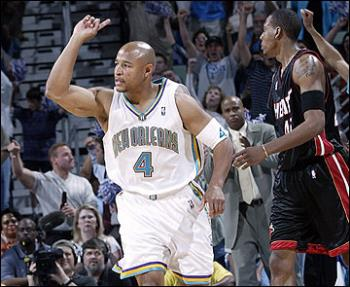New Orleans' David Wesley - New Orleans' David Wesley in Eastern Conference Playoffs 2004 Round 1.