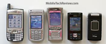 nokia - NOKIA N73 along with other mobile phones