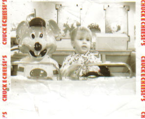 My Son at Chuck E Cheese - This is one of our trips to Chuck E Cheese, this one was taken many years ago. But I love the picture and it's the only Chuck E Cheese one I have loaded to my computer.