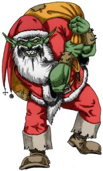The Troll - He might be a little late, but here's the Xmas troll