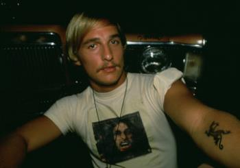Dazed & Confused - Matthew McConaughey as David Wooderson in the 1993 classic, Dazed & Confused