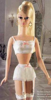 Barbie Renaissance - This picture of Barbie makes me kinda angry. She's wearing less than I wear to bed, and yet she's a role model for young girls.