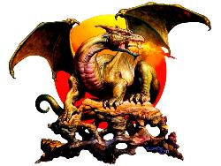 Firebreather/ Boris Vallejo - fantasy Dragon.
