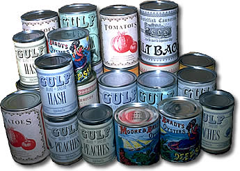 Canned food - Canned food are lots of preservatives