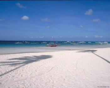 Boracay - white sandy beaches