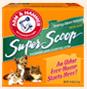 Super Scoop Cat Litter - Fresh scent scoopable cat litter