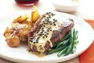Steak  - A really good steak is lovely to eat.