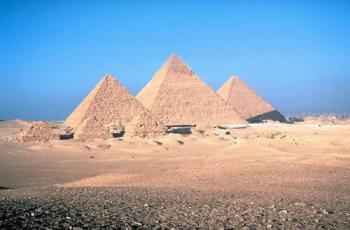 Pyramids - I always feel happy visit them