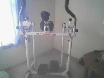 Fitness flyer - I use this fitness flyer machine for exercise and to burn calories quickly.
