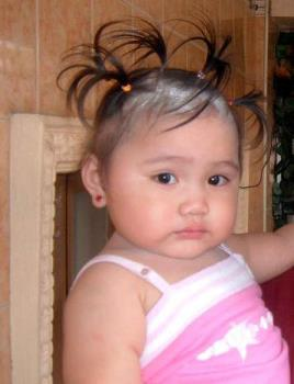 my cute little niece - this is my niece shes 1 year and 5 months old