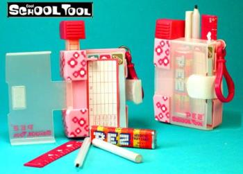 Pez School Tool - Released and retired 2004, the Pez SCHOOL TOOL Candy Dispenser has many COOL features including: 