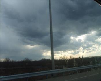 Sky Photo - Driving at 55mph. LOL Love this camera