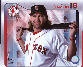 "Better Days - Johnny Damon during his ""Better Days""...lol You do know he just lost his way...."