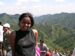 Me at the great wall of china at one of the highes - An awesome experience. Dont miss it if you get a chance