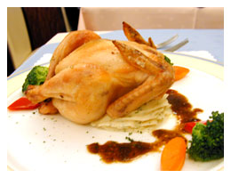 Stuffed Roast Chicken - It's easy to cook and delicious to eat.