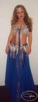 Jenna Von Oy - Bellydancer Costume - Jenna Von Oy dressed as a belly dancer