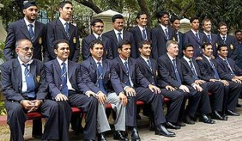 See bunch of idiots smiling - Indian team is facing worst of time and wish them to overcome .
