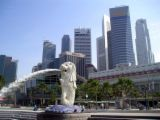 singapore - singapore and their famous merlion