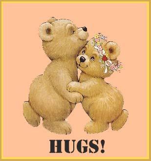 hugs and kisses for you, lorwiz - goodbye
