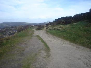 Roman road - This is an ancient Roman Road running abouve the village of Holmfirth in the west riding of Yorkshire