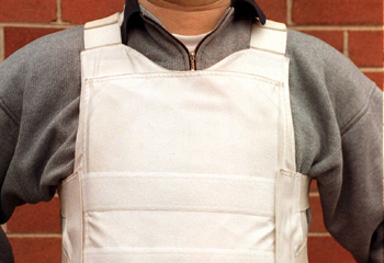 Bullet Proof Vest - Children in England now wear bullet proof vests!