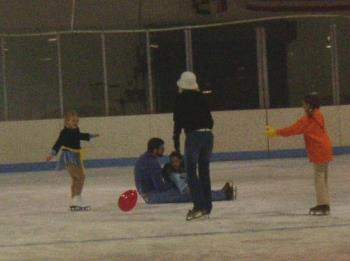 Do you fall when you ice skate? - ice skating
