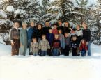 big family - a picture of a big family