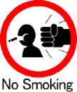 "no smoking - a rather hilarious ""no smoking"" sign"
