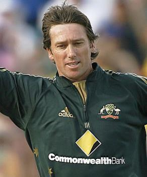 Glen McGrath - He has been a wonderful bowler with is sheer accuracy in his line and lenght, i am sure Aus will miss him