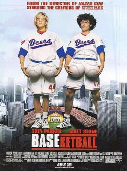BASEketball Movie Poster - This is a movie poster for BASEketball.
