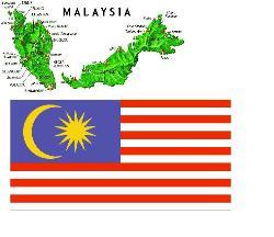 Malaysia - Malaysia map & flag
