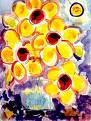 flowers painting  - flowers painting image