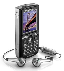 Sony Ericsson k750i - The Sony Ericsson k750i, undoubtedly the best phone out there for the average mobile user, packed with a 2-megapixel camera with autofocus, mp3 player, FM radio, and more..!