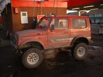 the jeep I bought but never really use, it's a suz - the jeep I bought but never really use, it's a suzuki sj416
