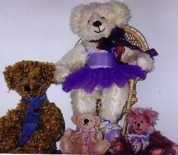 Some of My Teddy's - some of my hand bear teddy bears..