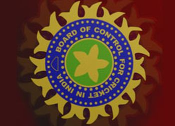 BCCI logo for cricket . - BCCI is suppose to be highest paying board in any sports worldwide. If their players do not perform they have right to cut their wages.