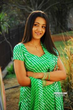 hi - she is trisha who rocks in south india