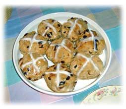 Hot Cross Buns - Easter Hot Cross Buns