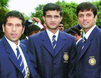 Dravid,Ganguly and Tendulkar, Three pillars of cri - I think players like them can never take birth. They are world's number one players and Loosing this last worldcup they are playing is not good.