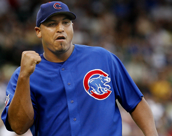 The great Carlos Zambrano - Carlos after another stellar victory